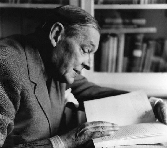 NPG x88526,Thomas Stearns ('T.S.') Eliot,by Ida Kar